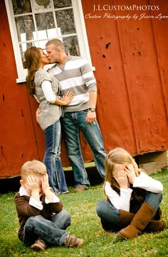 As soon as my kids can both pose, this is happening. Probably with and without a photographer present.