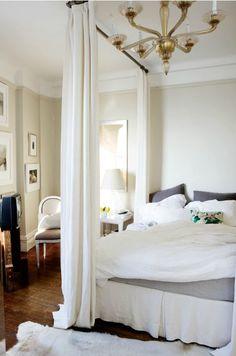 Casual-chic bedroom; Melanie Acevedo photo