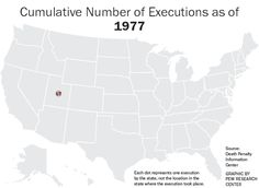 Cumulative Number of Executions, by State