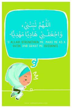 Dua Islamic Teachings, Islamic Dua, Islamic Quotes, Allah Islam, Islam Quran, Ramadan Day, Islamic Cartoon, Islam Women, Islam For Kids