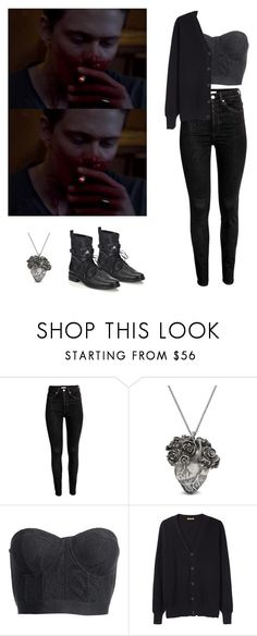 """""""Roman Godfrey - Hemlock Grove"""" by shadyannon ❤ liked on Polyvore featuring Mulberry, Reiss, Peter Jensen and Freda Salvador"""