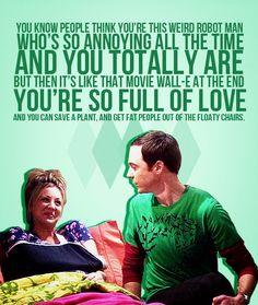 Sheldon & Penny's best moments of season 3!!!