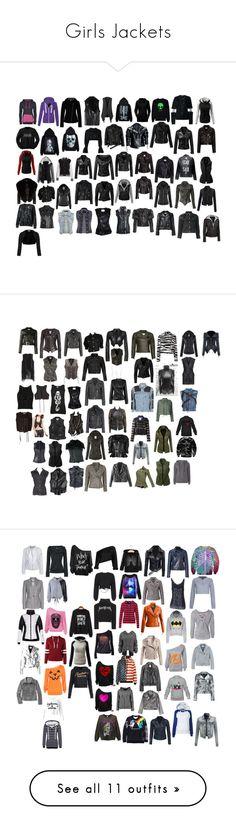 """Girls Jackets"" by spellcasters ❤ liked on Polyvore featuring Paule Ka, Harrods, Bench, HIGH, Filles à papa, Kenzo, VIPARO, Leka, Miss Selfridge and Chicnova Fashion"