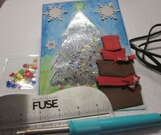 Video tutorial :Card natalizia con Fuse tool di We R Memory Keepers