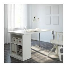 Linnmon desk from IKEA alex drawers Corner L shape See more