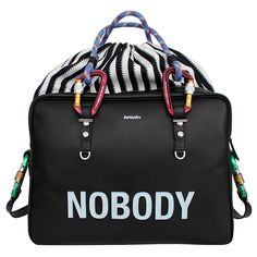 "Pelayo Diaz x Davidelfin ""NO ONE"" Bag Collection"