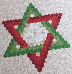 Patrón Quilt de la estrella de David