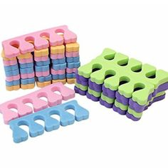 Lot Soft Sponge Foam Nail Art Finger Toe Separator Salon Manicure Pedicure ** wholesale lot** **made of soft plastic** **ideal for pedicure tasks** **each size about x x (thick)** ** Brand New**. Foot Pedicure, Manicure E Pedicure, Manicure Tools, Nail Tools, Mani Pedi, Nail Art Salon, Toe Nail Art, Nailart, Decorative Night Lights