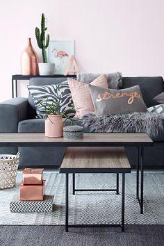 Ellos Home Milano-sohvapöydät, 2/pakk.