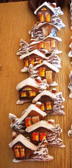 Купить Кофейные домики -3 - кофейные домики, интерьерные домики, домики подвески, с ароматом кофе