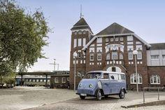 Audi restores battery-powered 1956 DKW Schnellaster Kastenwagen