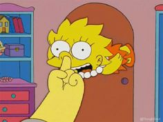 Animated gif about funny in Homer and Simpsons by Khana Simpsons Simpsons, Simpsons Frases, Cartoon Icons, Cartoon Memes, Funny Memes, Cartoon Styles, Simpson Tumblr, Los Simsons, Simpsons Drawings