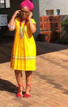 African Dresses For Kids, Latest African Fashion Dresses, African Dresses For Women, African Print Fashion, African Attire, Setswana Traditional Dresses, Pedi Traditional Attire, South African Traditional Dresses, Shweshwe Dresses