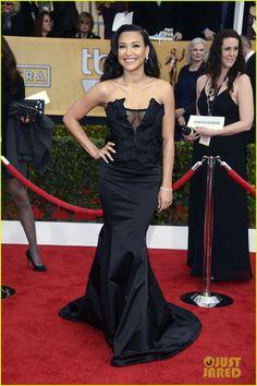 Naya Rivera - SAG Awards 2013 Red Carpet