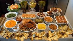 Like the buffet idea. Maybe we'll try it this year.