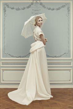 dustjacket attic: Ulyana Sergeenko | Corseted Dresses & Ball Skirts