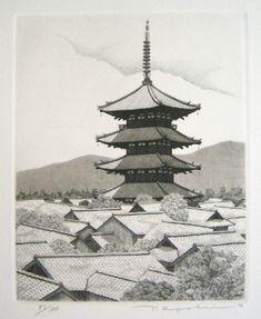 TANAKA,Ryohei[Pagoda at Yasaka,Kyoto]