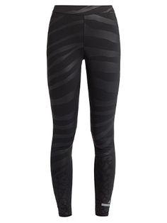 Panel de contraste por Stella McCartney Adidas Performance leggings