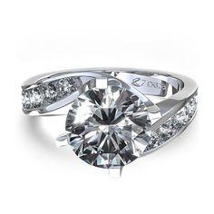 Twisted wedding ring