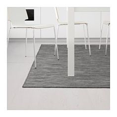 "IKEA - HODDE, Rug, flatwoven, 5 ' 3 ""x7 ' 7 "", , Durable, stain resistant and easy to care for since the rug is made of synthetic fibers.Ideal in your living room or under your dining table since the flat-woven surface makes it easy to pull out the chairs and vacuum.The rug is perfect for outdoor use since it is made to withstand rain, sun, snow and dirt."