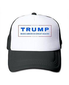 d6e48b69259d7 Black Unisex Donald Trump Adjustable Trucker Hats Pink Gorras De Camionero