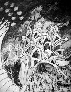 Antonio Santelia (1888-1916) redacta el Manifiesto de la Arquitectura Futurista…