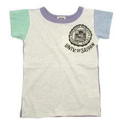 F.O.KIDS(エフオーキッズ):クレイジーTシャツ グレー(GY) の通販【ブランド子供服のミリバール】