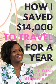 How I saved $14,000 to travel for a year. Tips on budget travel planning and how to make extra money. Ideas for saving money fast. #personalfinance #budget #careerbreak Budget Travel, Travel Tips, Solo Travel, Travel For A Year, How To Overcome Shyness, World Travel Guide, Gap Year, Money Fast, Travel Scrapbook
