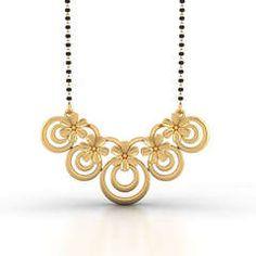 Latest Gold Mangalsutra Designs Online with Price Diamond Jewelry, Gold Jewelry, Beaded Jewelry, Jewelery, Women Jewelry, Gold Bangles Design, Gold Jewellery Design, Fashion Necklace, Fashion Jewelry