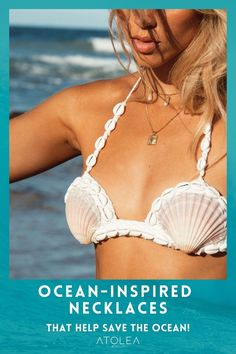 Get ready to bring those beachy vibes all year long with our necklaces. Every purchase of our ocean jewelries can help save marine animals! Contribute in saving the ocean with each of your purchase. Shop now at atoleajewelry.com