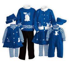 Royal Polarwear Matching Family Outfits
