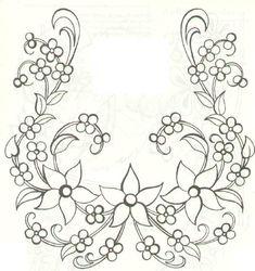 Hand Embroidery Design Nursen Örgü Dünyası 1