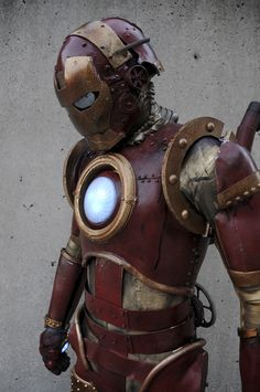 Steam Punk Iron Man by Judith Stephens ( ~The Dreamer World on deviantART )  /thedreamerworld.deviantart.com/