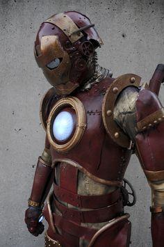Steam Punk Iron Man by Judith Stephens ( ~The Dreamer World on deviantART )  /thedreamerworld.deviantart.com/