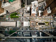 Don't look down. New York City.