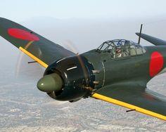 WW II A6M3 Zero Fighter