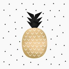 Poster | PINEAPPLE von Elisabeth Fredriksson | more posters at http://moreposter.de