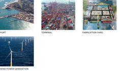 port, terminal, fabrication yard, wind power generation JD Company