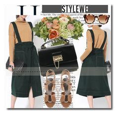 """""""StyleWe!"""" by dianagrigoryan ❤ liked on Polyvore featuring NDI, Alexander Wang and Fendi"""