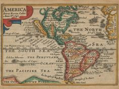 18 Maps From When the World Thought California Was an Island | An English map from 1646. GLEN MCLAUGHLIN MAP COLLECTION / STANFORD UNIVERSITY  | WIRED.com