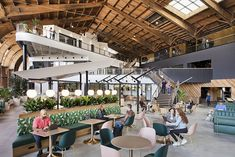 Today, we're adding a new Stadia Games and Entertainment studio in Playa Vista, California. Google Office, Design Blog, Design Studio, Spruce Goose, Le Hangar, Wooden Airplane, Office Pictures, Office Images, Howard Hughes