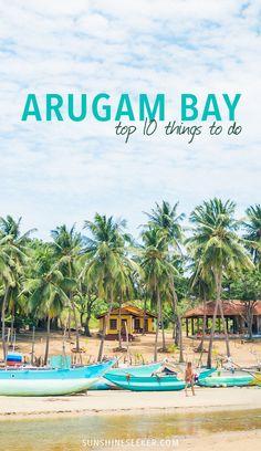 Tropical island paradise - Arugam Bay, Sri Lanka.