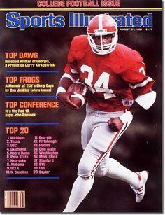 8905375f785 the Cover: Herschel Walker, Football, University of Georgia Bulldogs