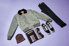 Breakers SS Tee $49.95 | #generalpants #insight51 #flatlay #mensflatlay #streetwear #vans #vansoldskool #skater #streetwear