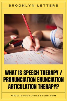 When a child is having difficulties with a sound that should have been mastered based on the child's chronological and linguistic ages, it might be an indication of a speech sound disorder. This may either be an articulation disorder or a phonological disorder. Visit our website to learn more. Our speech-language pathologists are ready to help you! Schedule a free consultation today! Phone: (347) -394-3485 Text: (201) 899-4399 Email: info@brooklynletters.com
