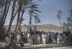 Groupe de territoriaux  voyage en Tunisie, 24 mars 1916.