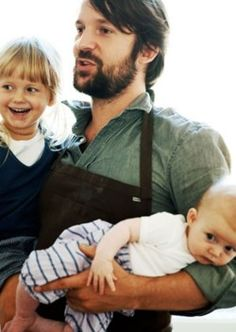 he will be this kind of dad  <3...love this pic