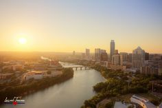 Sunset on Lady Bird Lake in Austin. Photographic Prints: Photographic prints are available in two finishes – matte and glossy. Matte prints look great in all types of lighting and are the most vers… Texas Pride, Types Of Lighting, Unique Image, Austin Tx, Beautiful Sunset, Photographic Prints, Seattle Skyline, To Go, Landscape