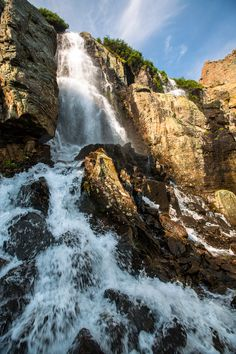 Timberline Falls, Rocky Mountain National Park, Colorado (pinned by haw-creek.com)