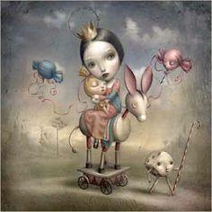 Beyond Blythe: Inspirerende illustraties van Nicoletta Ceccoli